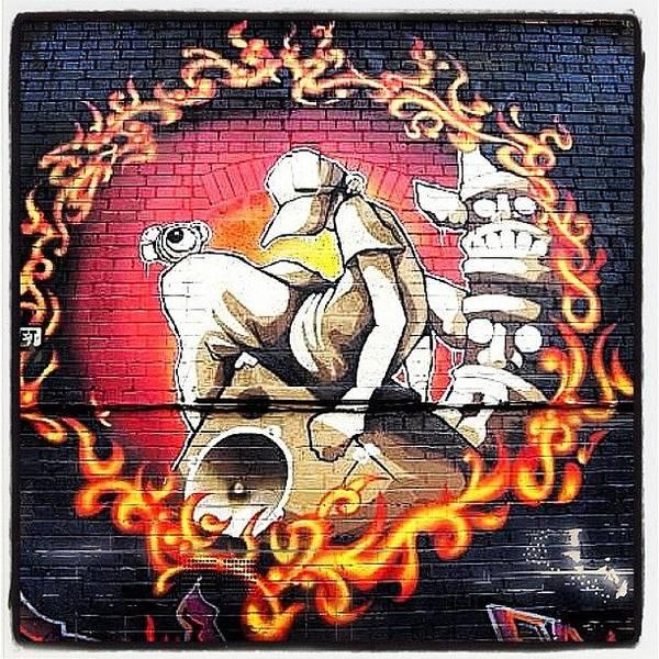 Comics Wall Art - Photograph - #artist #art #can #spray #spraycan by Nigel Brown
