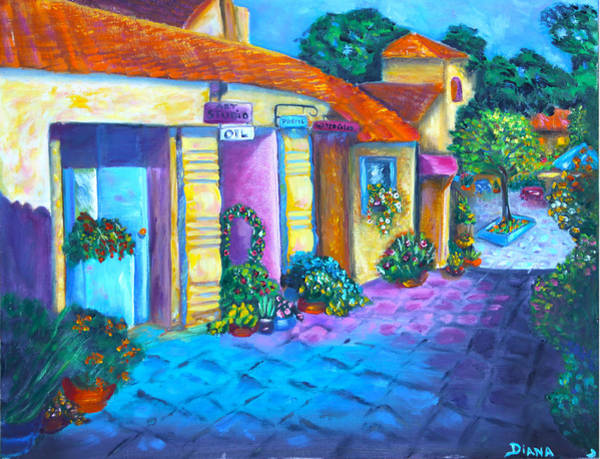 Painting - Artist Village by Diana Haronis