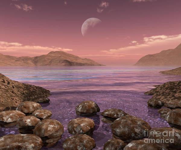 Earth Day Digital Art - Artists Concept Of Archean by Walter Myers