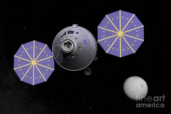 Orion Digital Art - Artists Concept Of The Next Generation by Walter Myers
