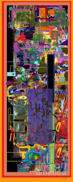 Consiousness Digital Art - Stirrings Of Emunah Six by David Baruch Wolk
