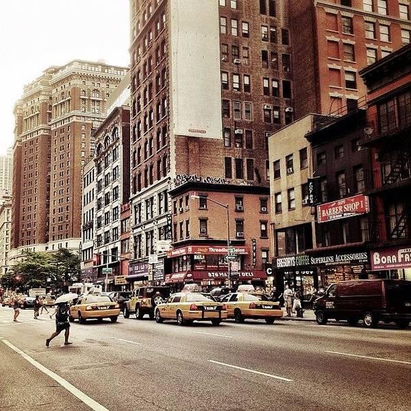 Wall Art - Photograph - As The Rain Falls - New York City by Vivienne Gucwa