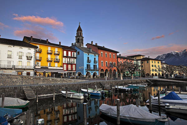 Ticino Photograph - Ascona Am Abend by Joana Kruse
