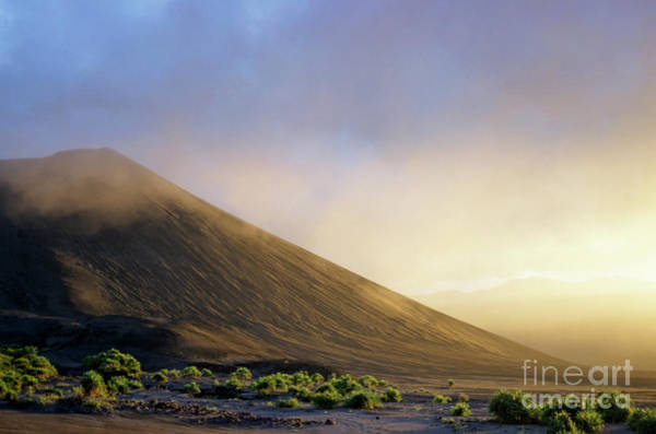 Yasur Photograph - Ash Plains Around Mount Yasur At Sunset by Sami Sarkis