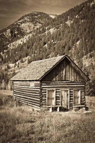 Ashcroft Ghost Town Art Print