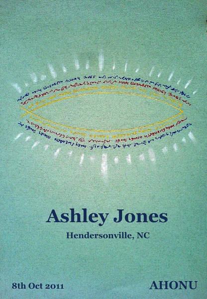 Ashley Jones Art Print