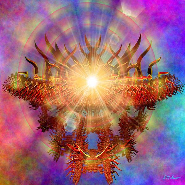Algorithm Digital Art - Asian Rainbow by Michael Durst