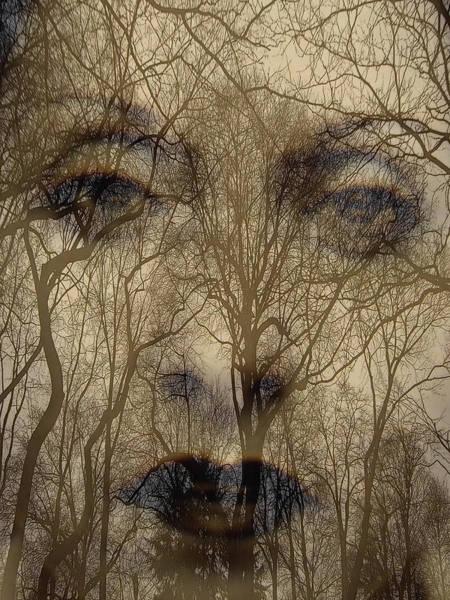 Asphalt - Portrait Of A Lady 2 Art Print