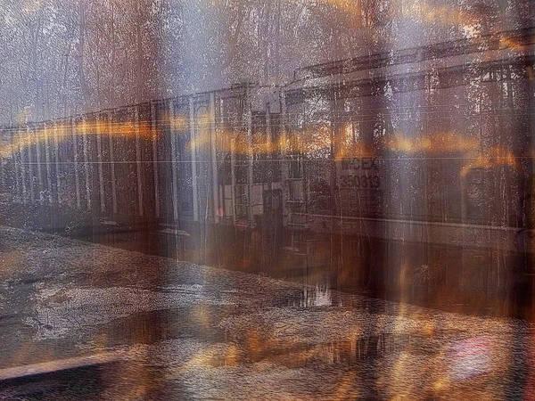 Asphalt Series - 1 Art Print