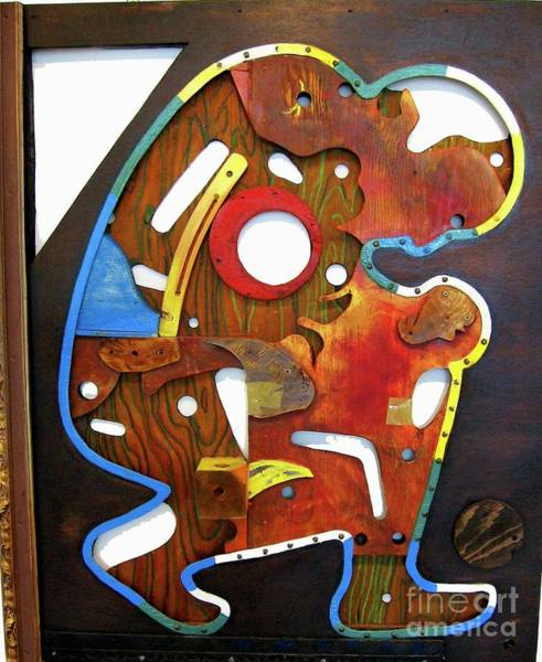 Mixed Media - Assemblage Painting A by Bill Thomson