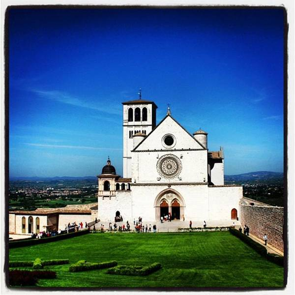 Architecture Wall Art - Photograph - Assisi by Luisa Azzolini