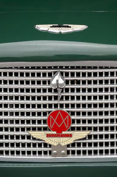 Photograph - Aston Martin Hood Emblem 2 by Jill Reger