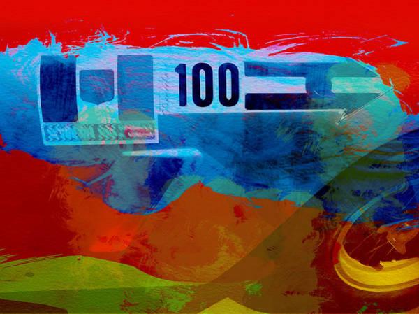 Car Shows Wall Art - Digital Art - Aston Martin Watercolor by Naxart Studio