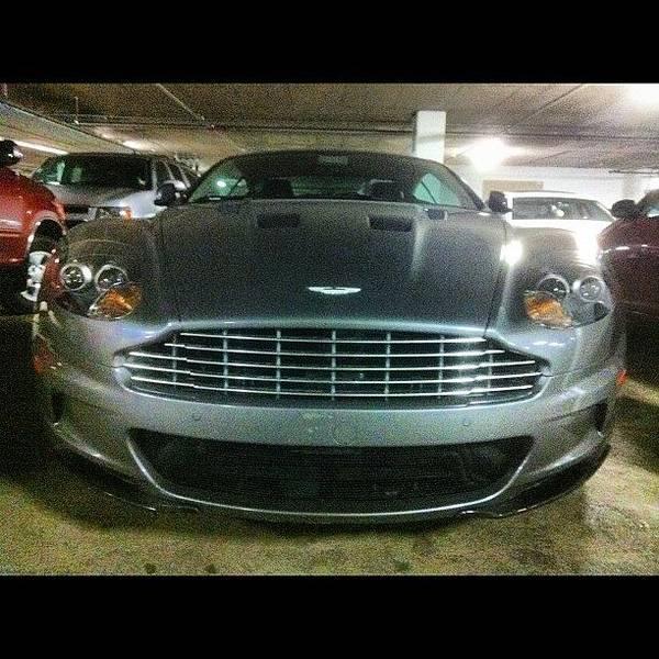Aston Martin Photograph - #astonmartin #aston #martin #dbs by Tyler Unruh