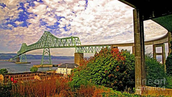 Astoria Bridge Photograph - Astoria-megler Bridge 2 by Margaret Hood