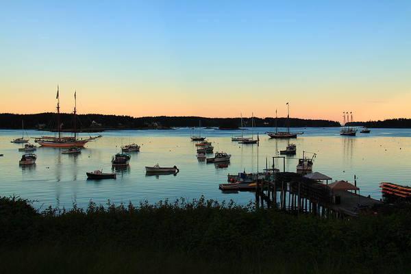 Photograph - At Anchor At Swans Island by Doug Mills