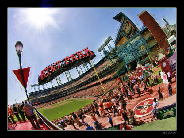 Photograph - At And T The Stadium by Blake Richards