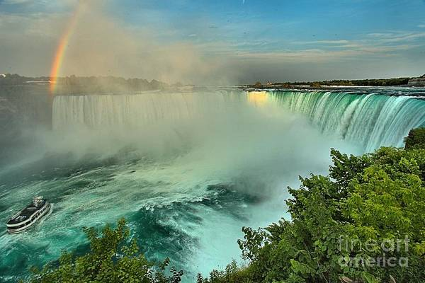 Niagara Falls State Park Photograph - At The Base Of Horseshoe by Adam Jewell