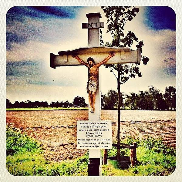Wall Art - Photograph - At The #cross by Wilbert Claessens