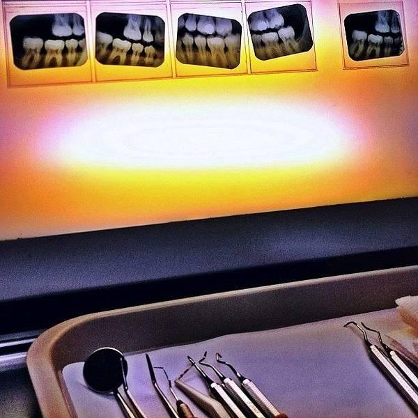 Illustration Wall Art - Photograph - At The Dentist by Natasha Marco