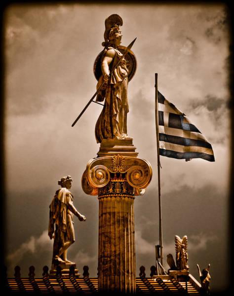 Athens, Greece - Athena Nike Art Print