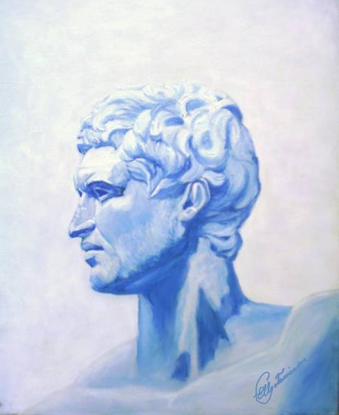 Painting - Athenian King by Elly Potamianos