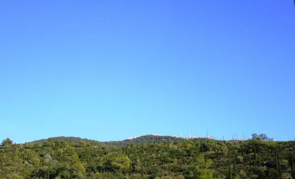 Photograph - Athens Airport Highway Green Scenery Towards Athens Greece by John Shiron