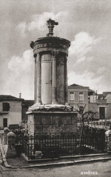 Photograph - Athens: Monument by Granger