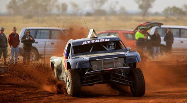 Photograph - Attard Kicking Up The Dirt by Paul Svensen