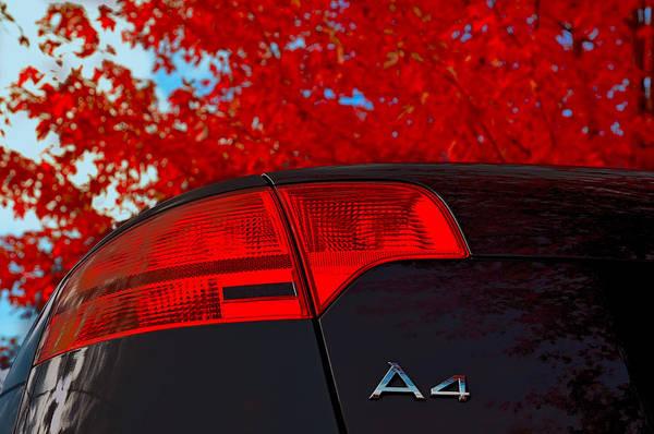 Photograph - Audi A4 by Dragan Kudjerski