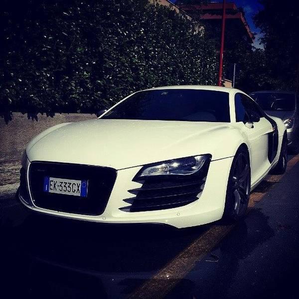 Audi Photograph - #audi #audi_r8 #r8 #supercar #car by Marco Folegatti