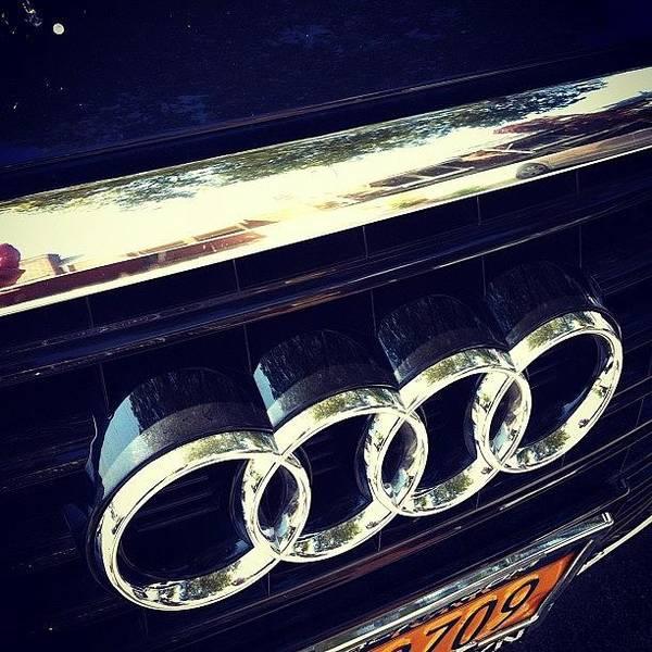 Audi Photograph - #audi ##car #fast #speed #man #men by Alex Mamutin