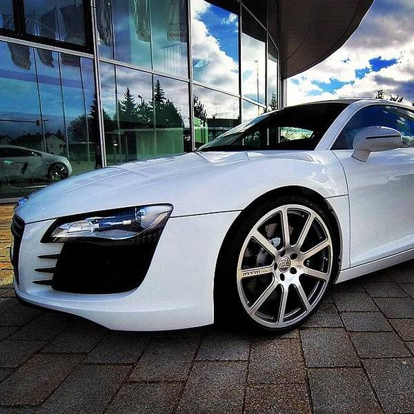 Audi Photograph - Audi R8 - The Machine by Guillermo Santangelo