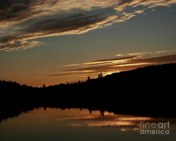 Photograph - August Lake Sunset by Donna Cavanaugh
