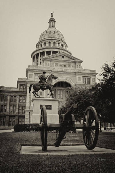 Wall Art - Photograph - Austin Capitol by Lisa Spencer
