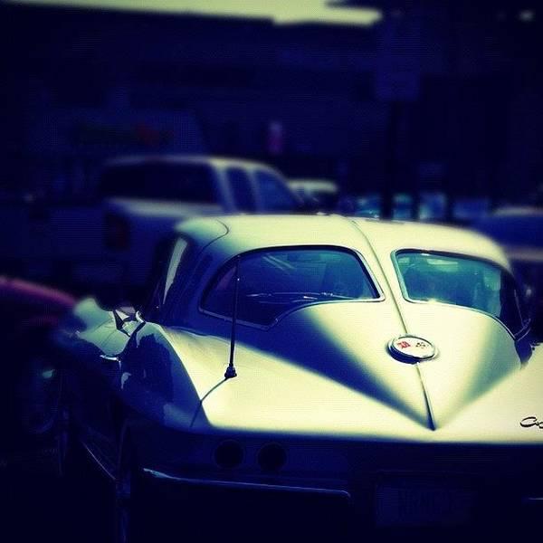 Chevrolet Corvette Photograph - #auto #classic #classiccar #musclecar by Junior  Scholars