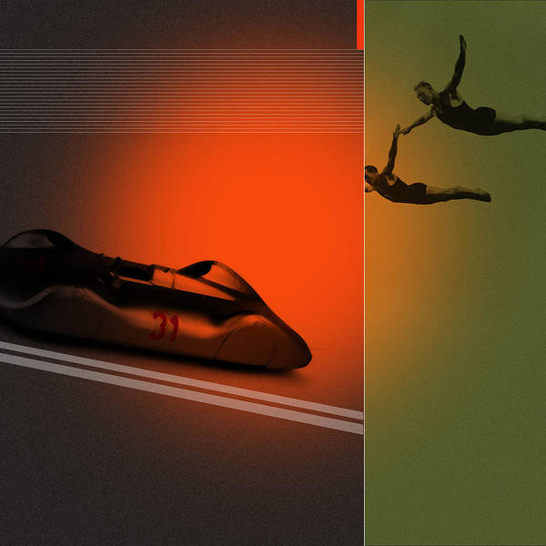 Gymnast Wall Art - Digital Art - Autounion by Naxart Studio