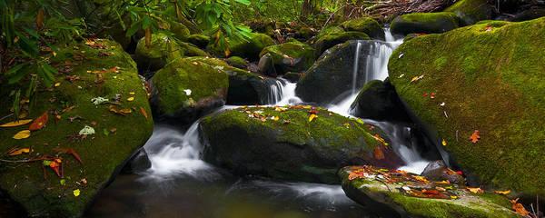 Photograph - Autumn Cascades II by Ryan Heffron