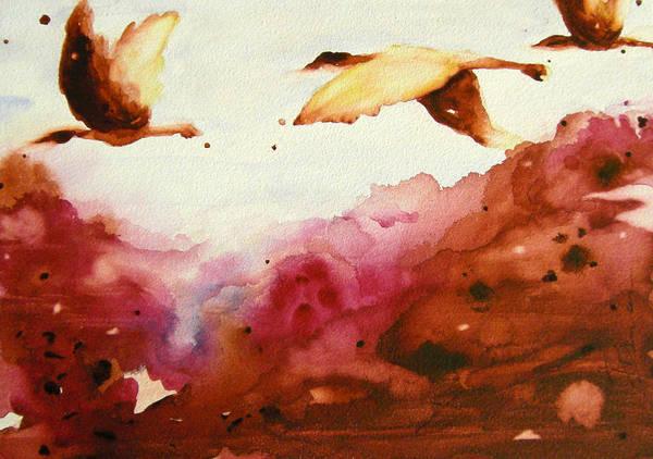 Autumn Flight Art Print