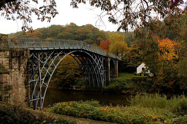 Photograph - Autumn In Ironbridge by Sarah Broadmeadow-Thomas