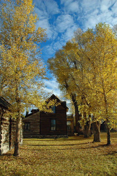 Photograph - Autumn In Montana's Nevada City by Bruce Gourley