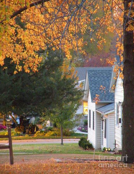 Christine Falls Photograph - Autumn In Nebraska City No.4 by Christine Belt