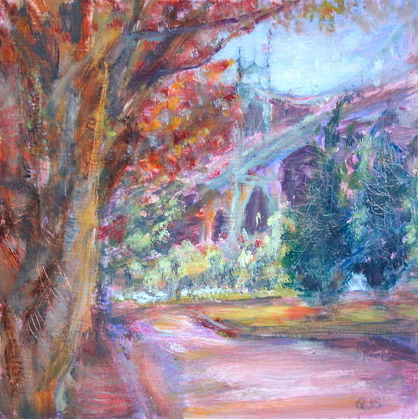 Painting - Autumn In The Park by Quin Sweetman