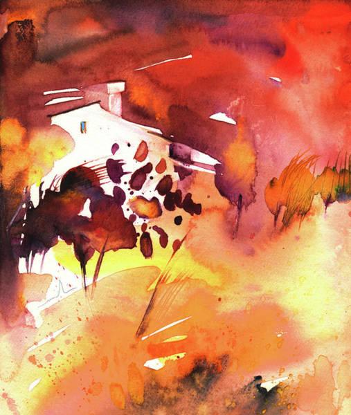 Painting - Autumn On Planet Goodaboom by Miki De Goodaboom