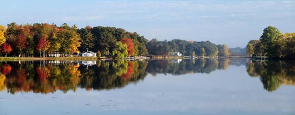 Mark Coleman Wall Art - Photograph - Autumn Reflection On The Peshtigo River by Mark J Seefeldt