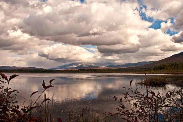 Photograph - Autumn Reflections At The Cherry Pond by Nancy De Flon