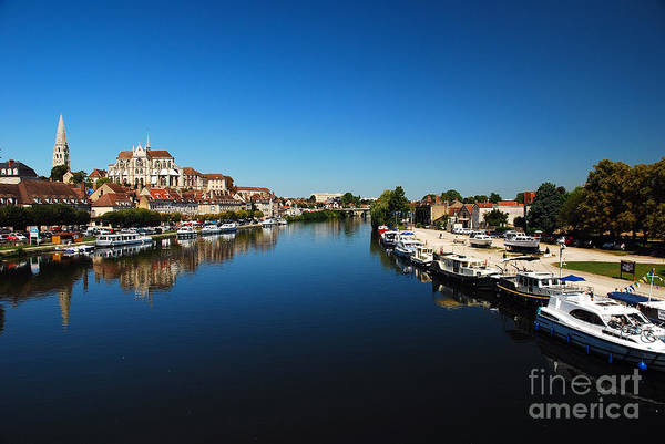 Photograph - Auxerre France by Hannes Cmarits