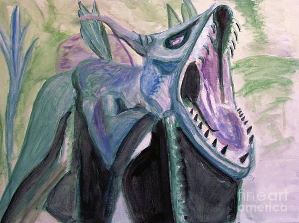 Painting - Avatar Dragon by Stanley Morganstein