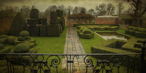 Avebury Manor Topiary Art Print
