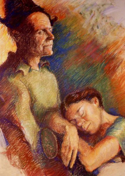 Pastel - Awake And Asleep by Ellen Dreibelbis